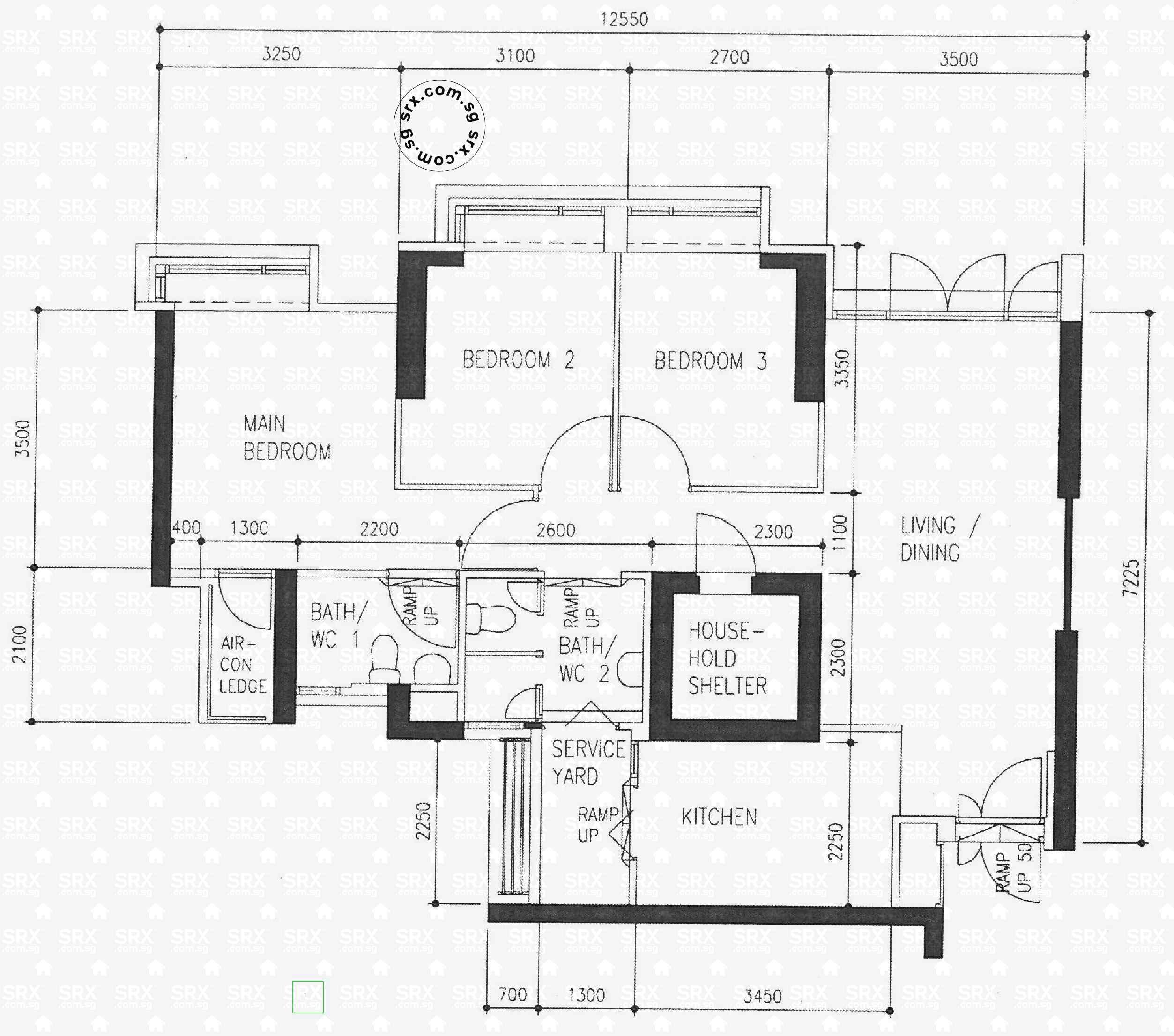 Floor Plans for 420 Clementi Avenue 1 (S)120420 HDB Details | SRX ...