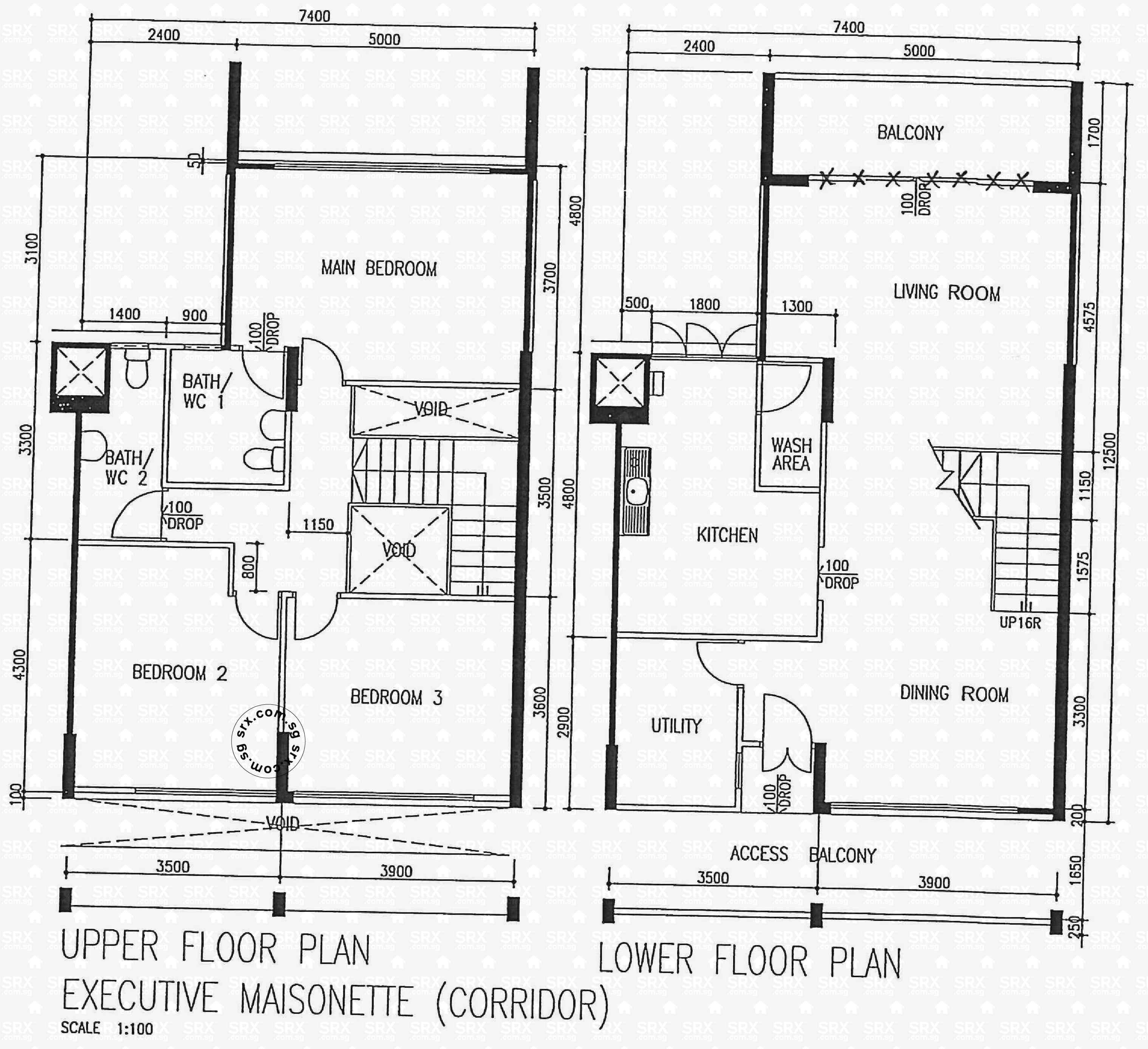 floor plans for clementi avenue  hdb details  srx property - blk   (actual)