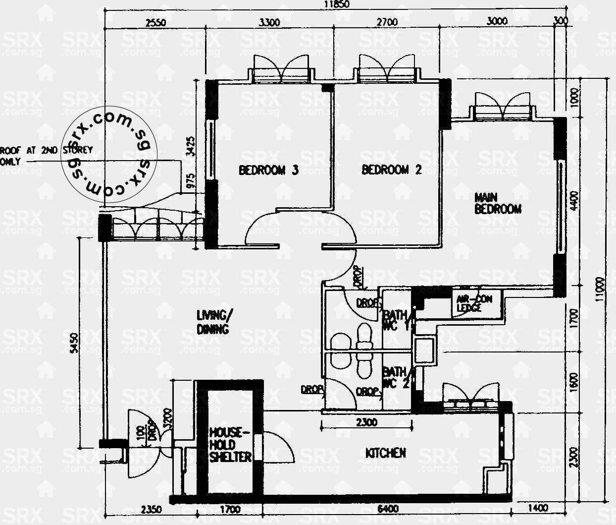 Floor plans for 49 jalan tiga s390049 hdb details srx property levellvl 11 ccuart Images