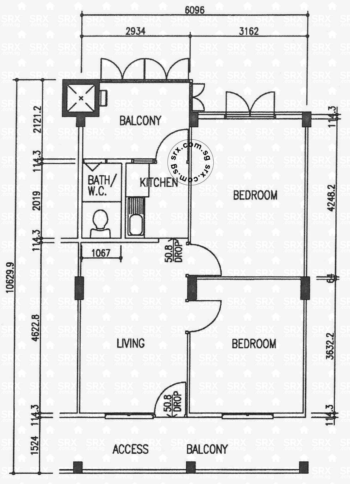 Floor plans for jalan tiga hdb details srx property levellvl 09 ccuart Gallery