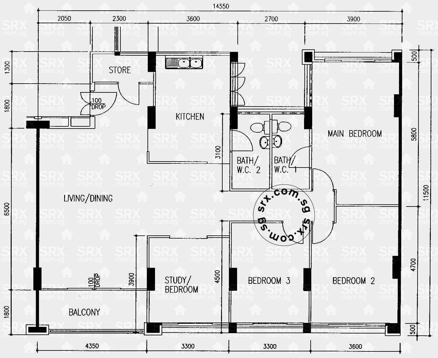 hougang street 51 hdb details srx property compassvale bow hdb details srx property