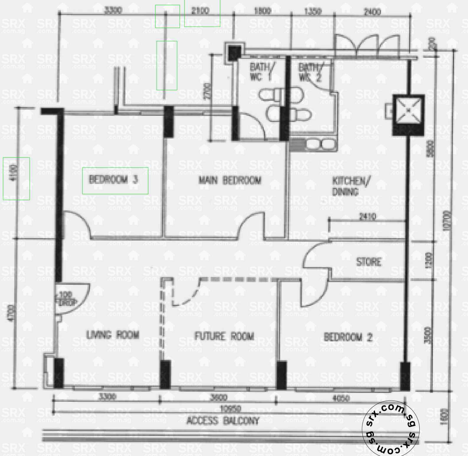 Hougang street 51 hdb details srx property for Plan 51