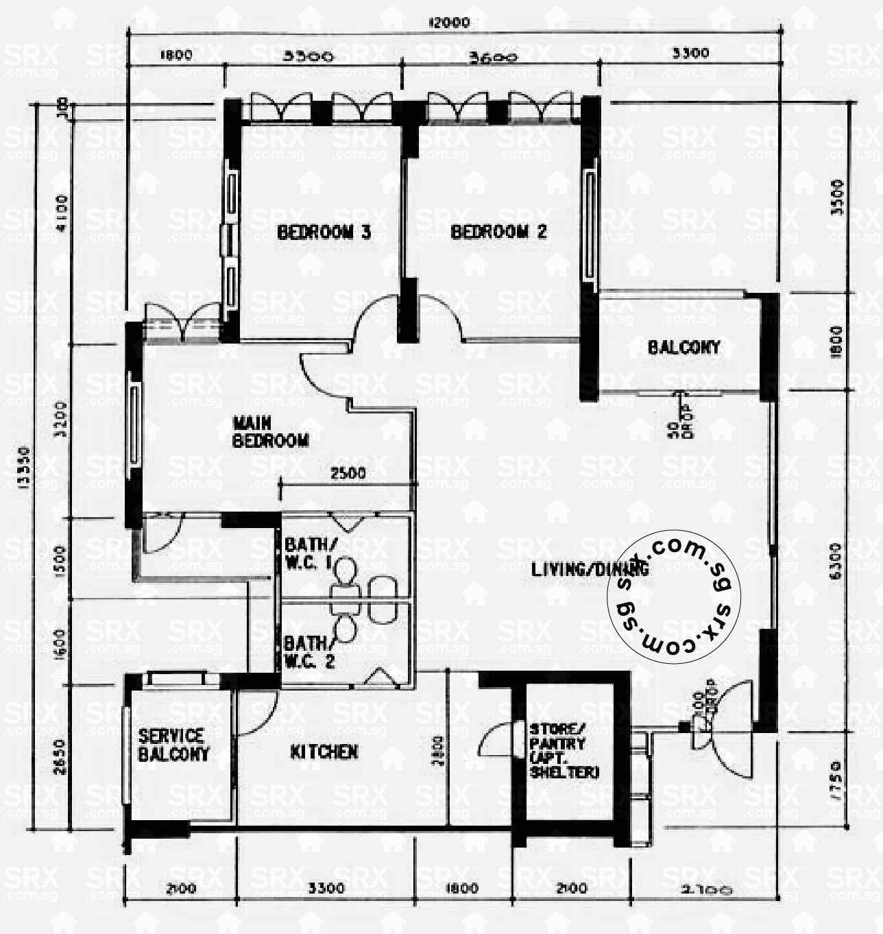 Floor Plans For Upper Serangoon Road Hdb Details Srx