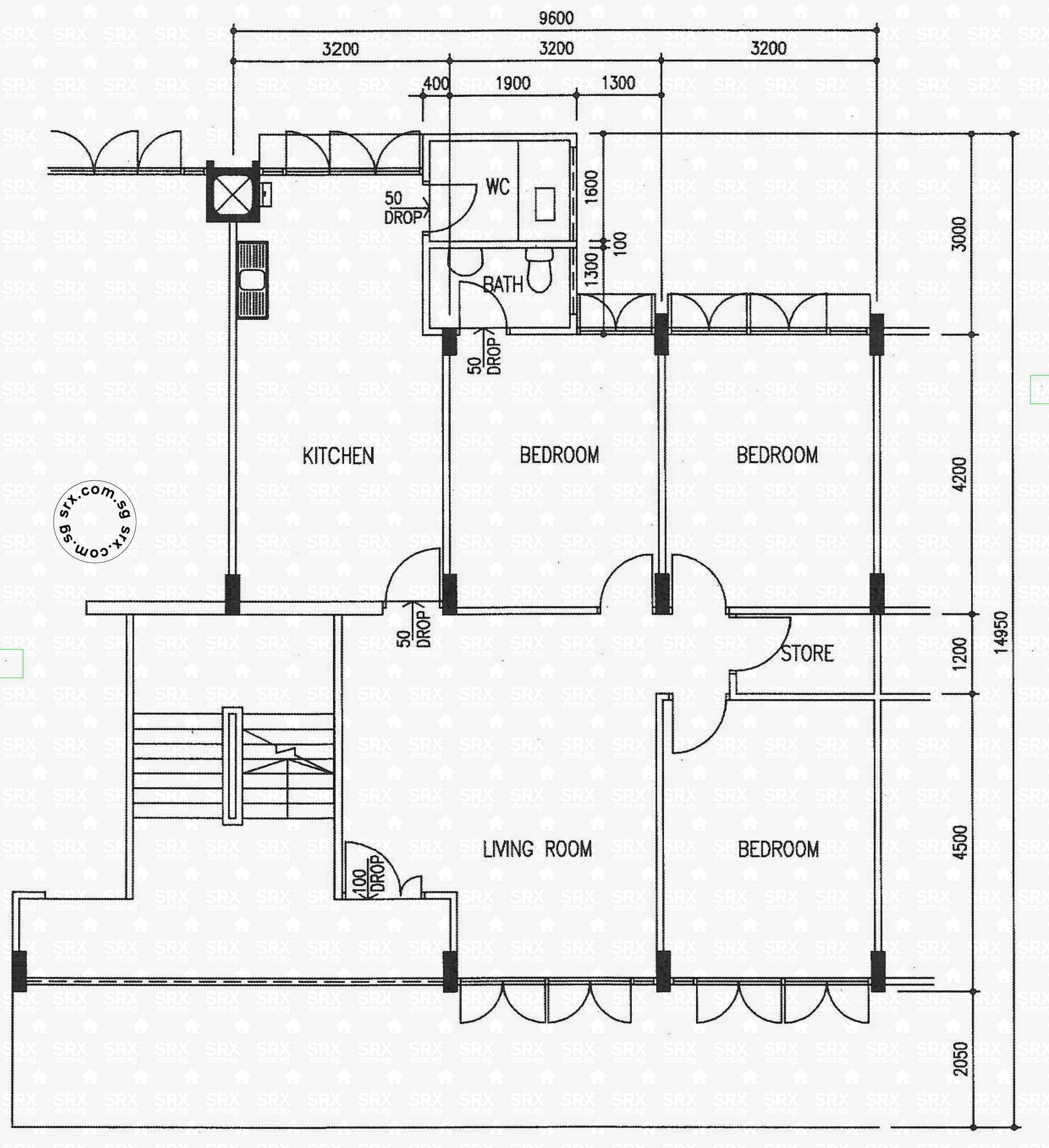 Pandan gardens hdb details srx property for Garden floor design