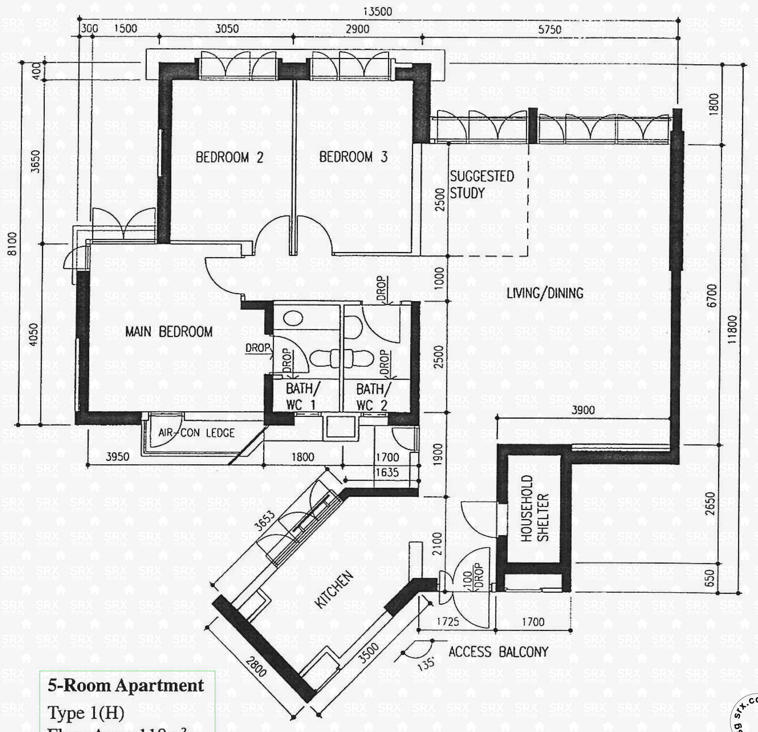 Floor Plans For Upper Boon Keng Road Hdb Details Srx