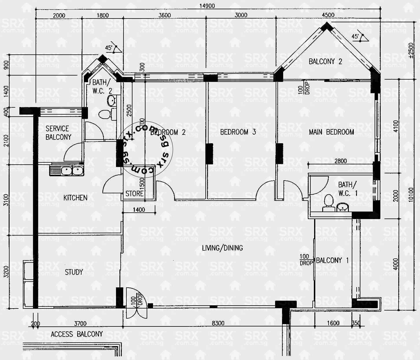 Pasir ris street 72 hdb details srx property for 509 plans
