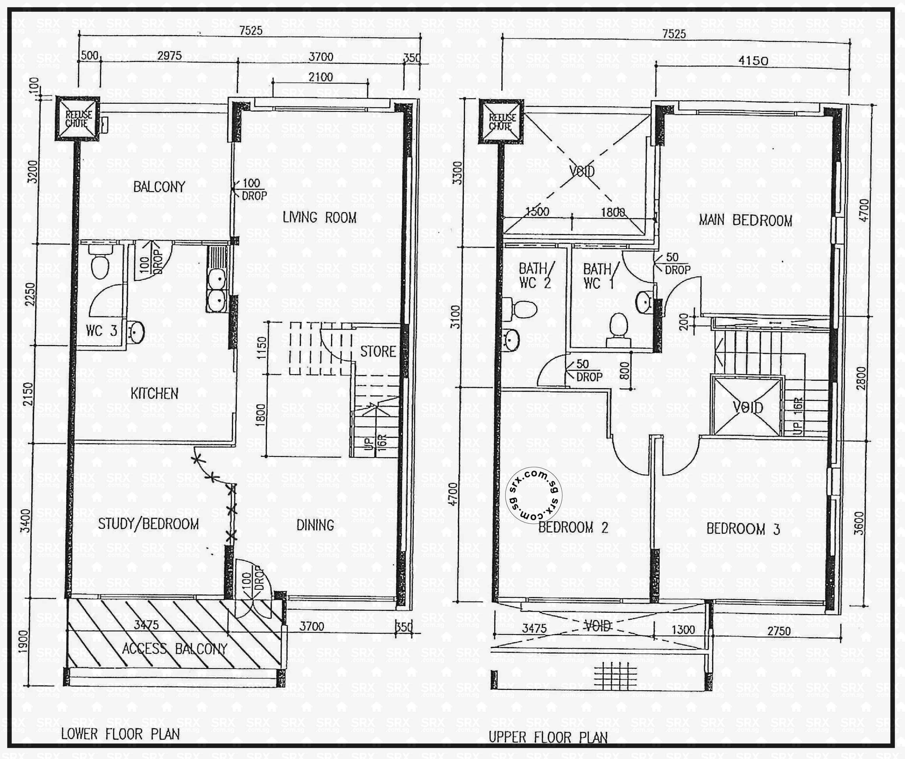 Pasir ris street 12 hdb details srx property for 509 plans