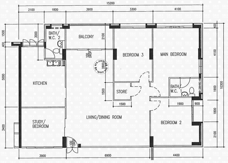 242 pasir ris street 21 s 510242 hdb details srx property for 509 plans