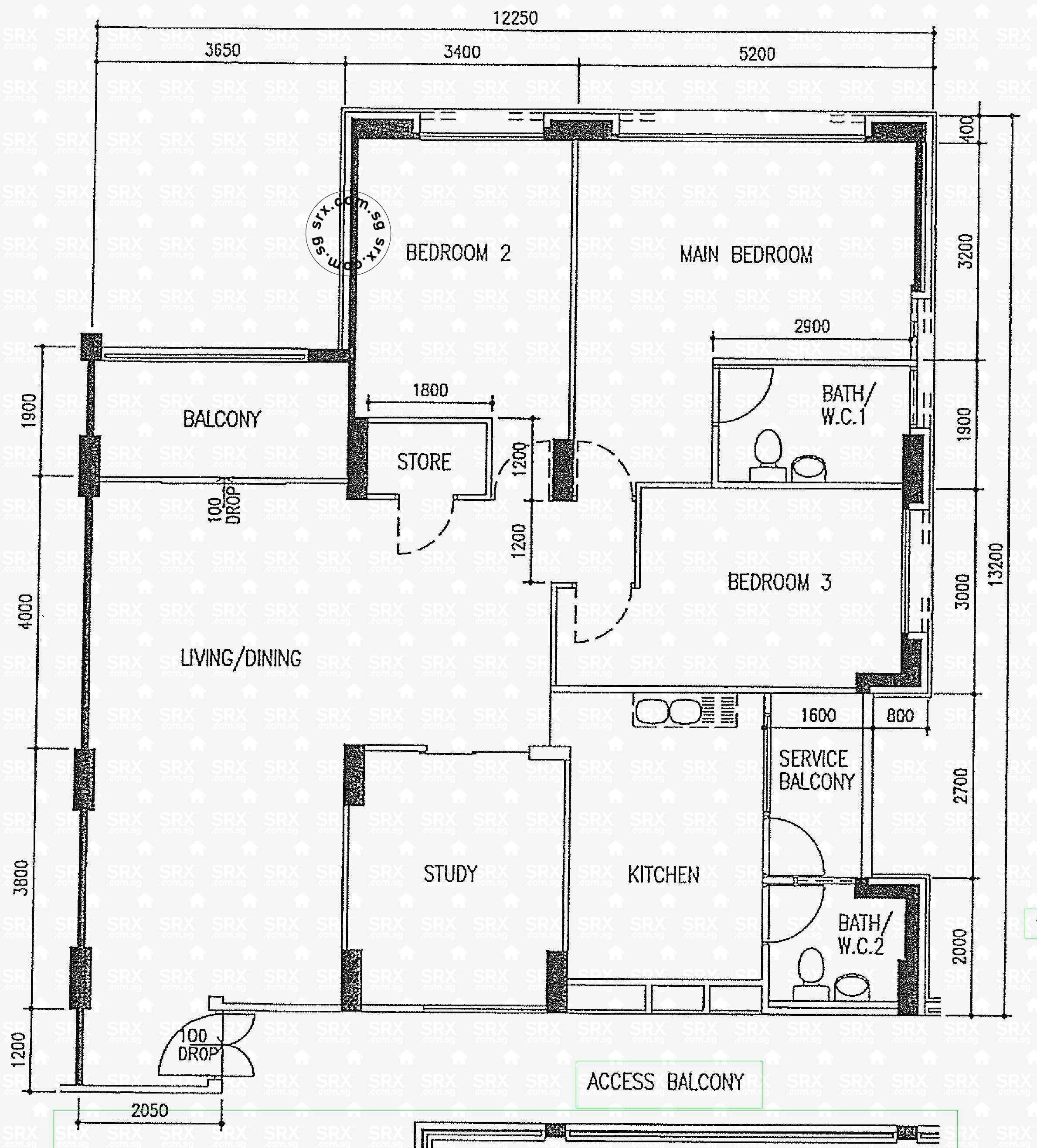 Floor Plans For Pasir Ris Street 21 HDB Details