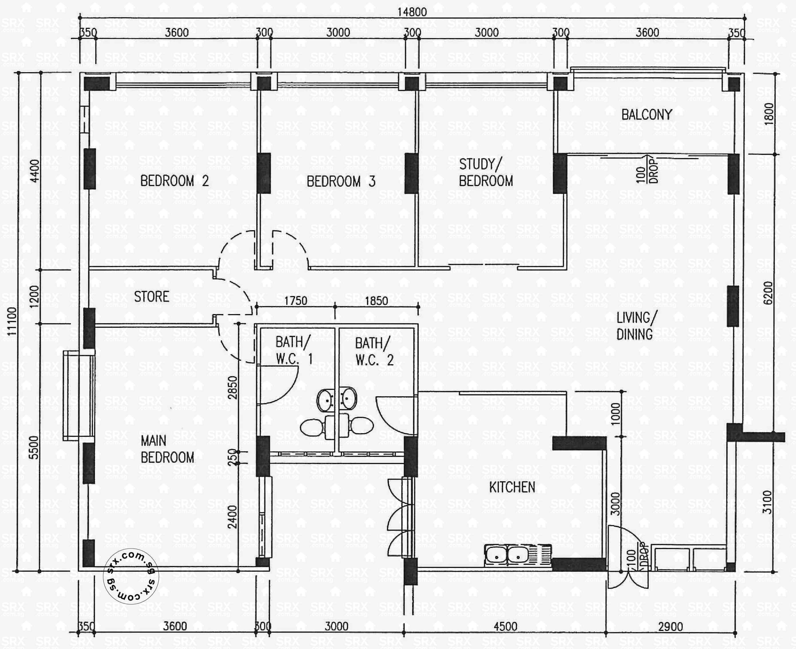 Pasir ris drive 1 hdb details srx property for 509 plans
