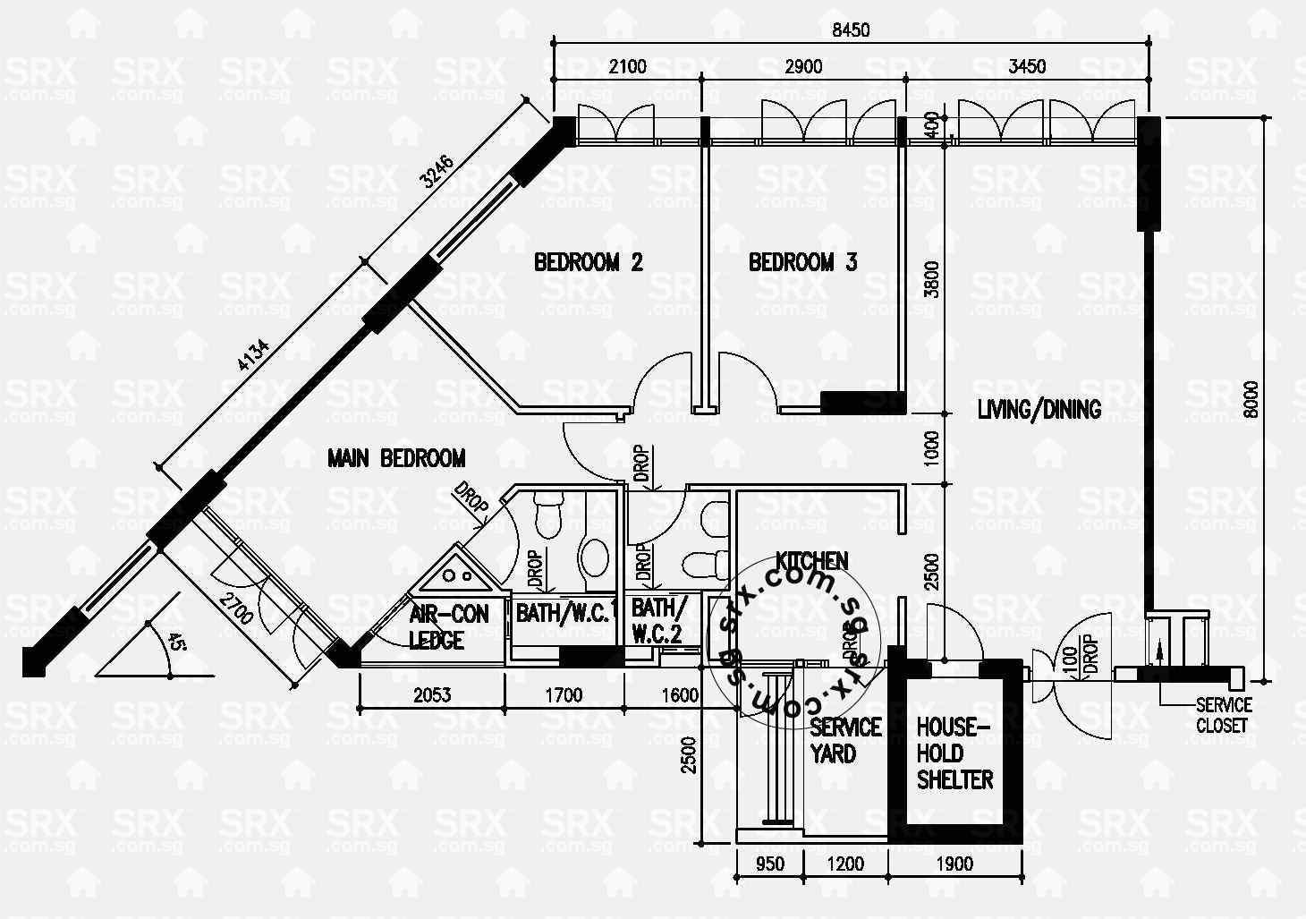 Punggol Drive Floor Plan Image #1