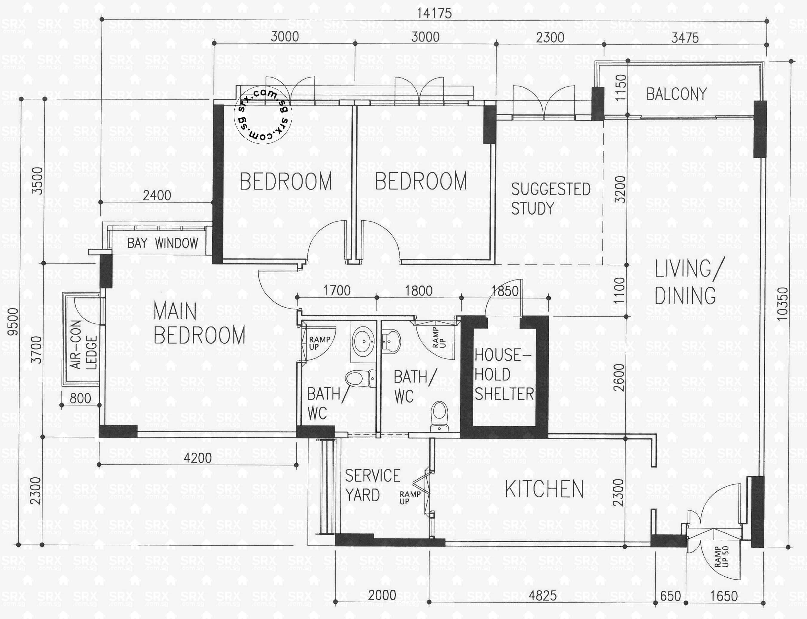 Floor plans for 273c punggol place s 823273 hdb details for 15 dunham place floor plans