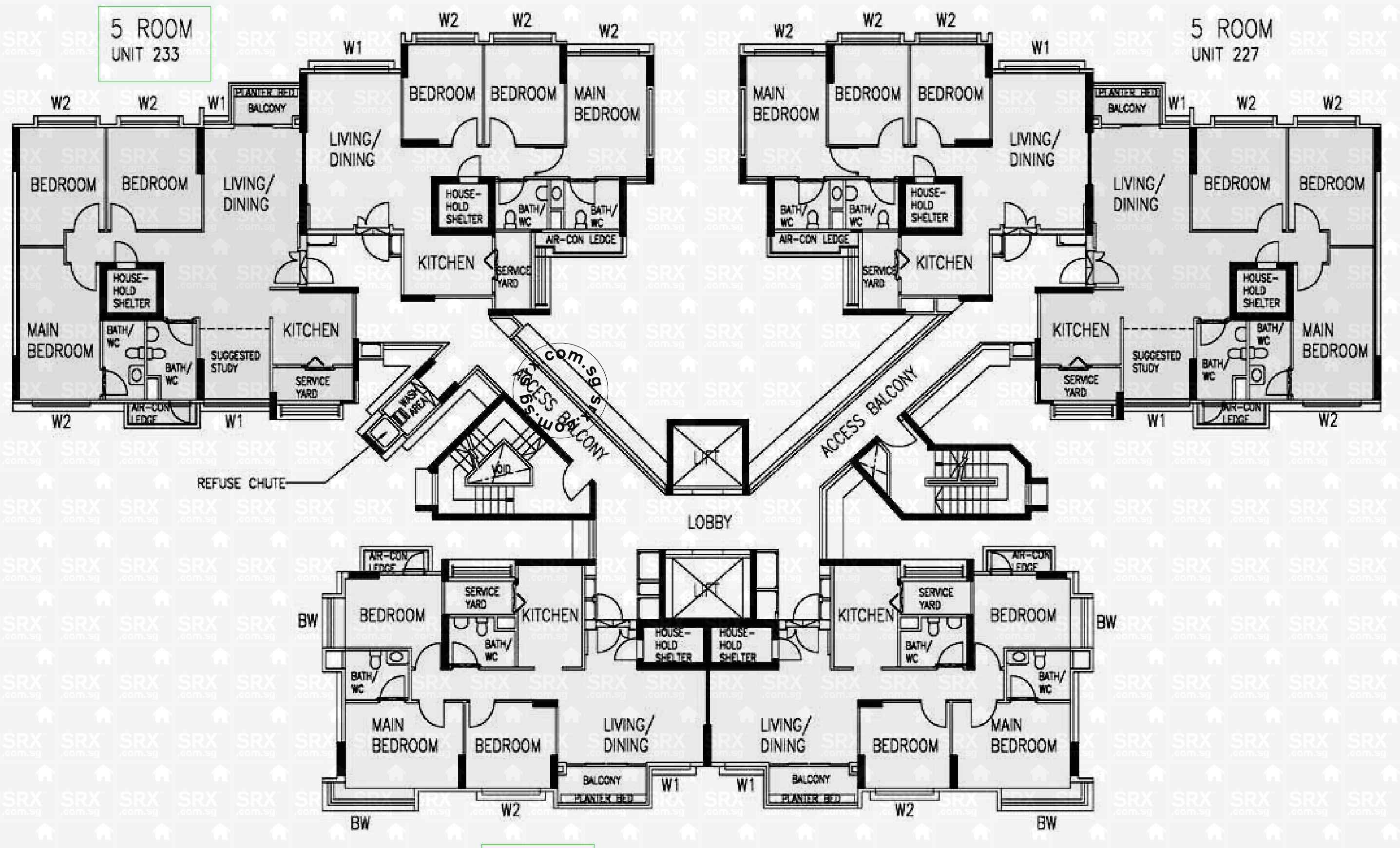 Punggol Field Floor Plan Image #1