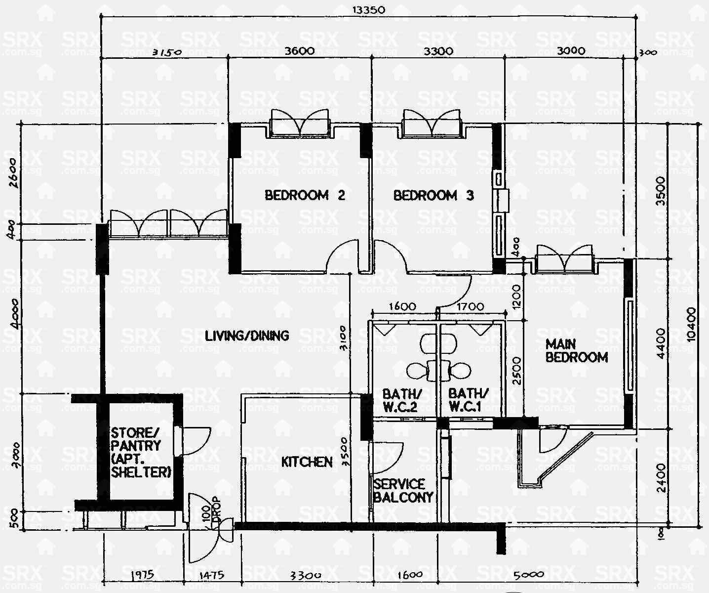 The Rivervale Condo Floor Plan Meze Blog