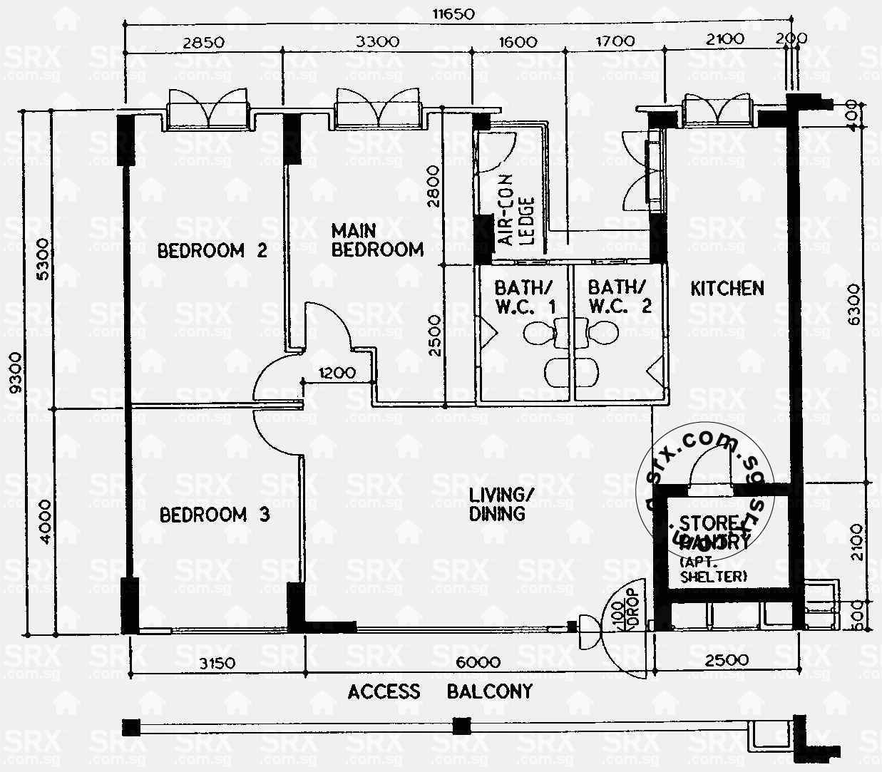 Rivervale Drive Floor Plan Image #1