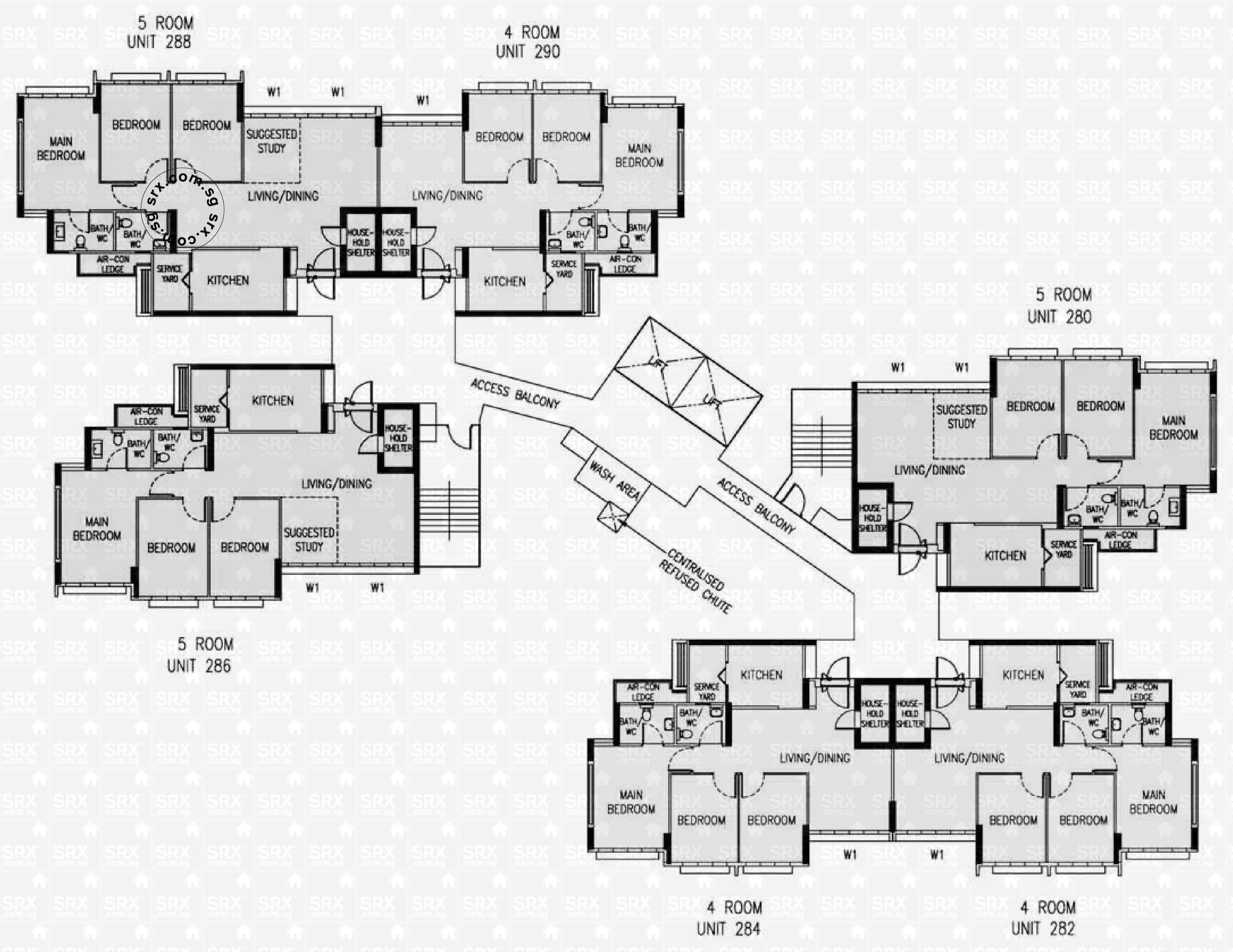 Rivervale Crescent Floor Plan Image #1