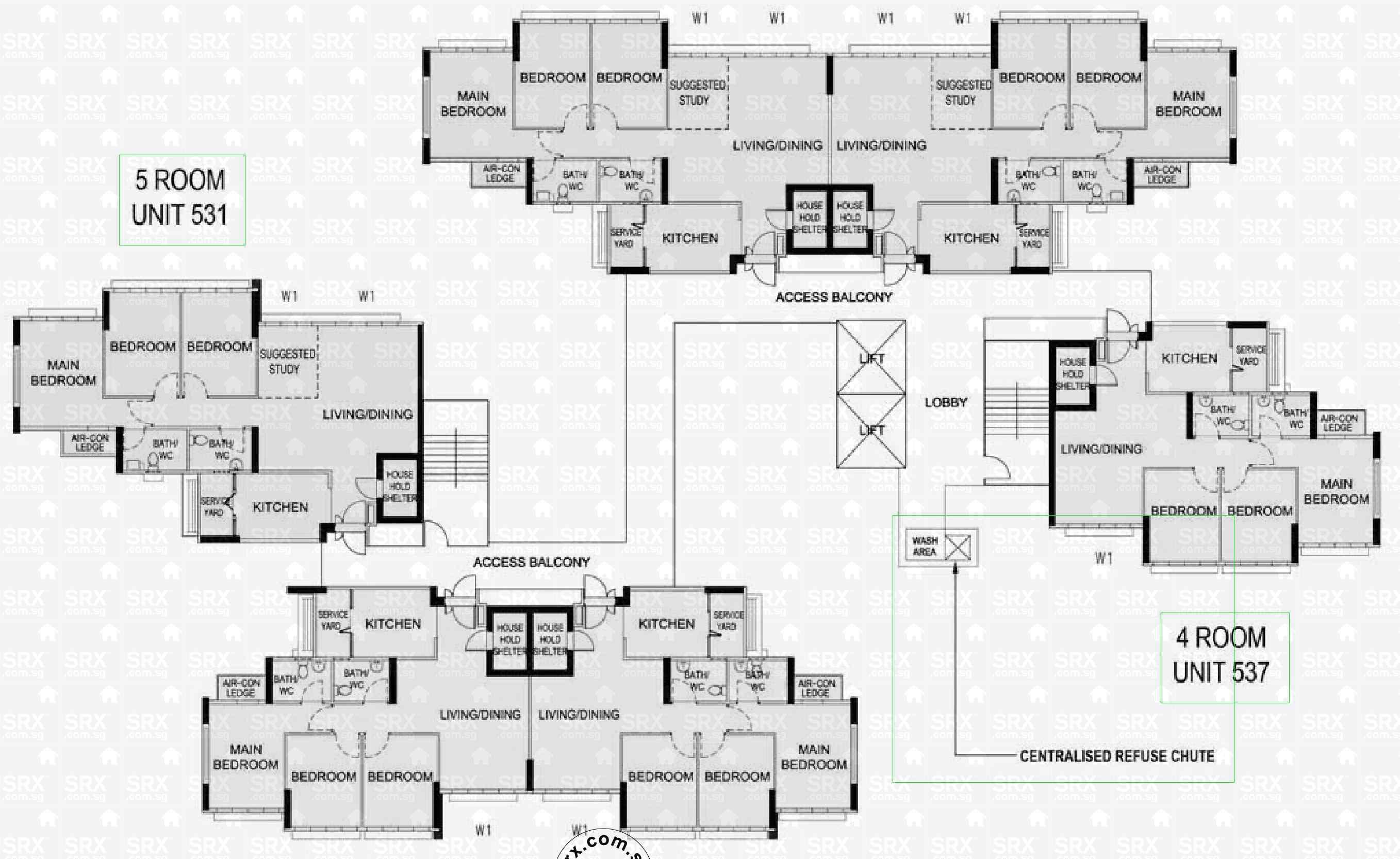 compassvale bow hdb details srx property eastpoint green 1 simei street 3 3 bedrooms 1180 sqft