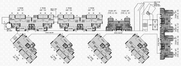 287a compassvale crescent s 541287 hdb details srx property for 1077 marinaside crescent floor plan