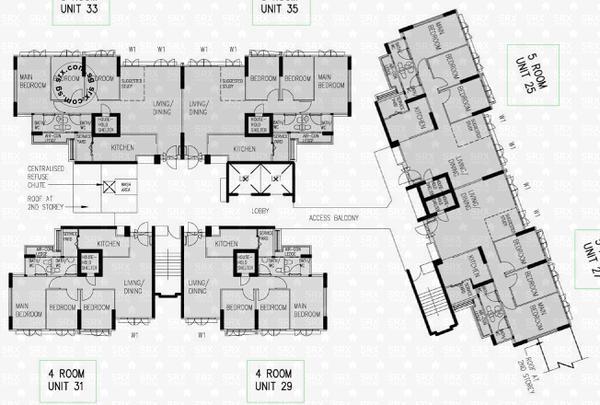 293d compassvale crescent s 544293 hdb details srx property for 1077 marinaside crescent floor plan