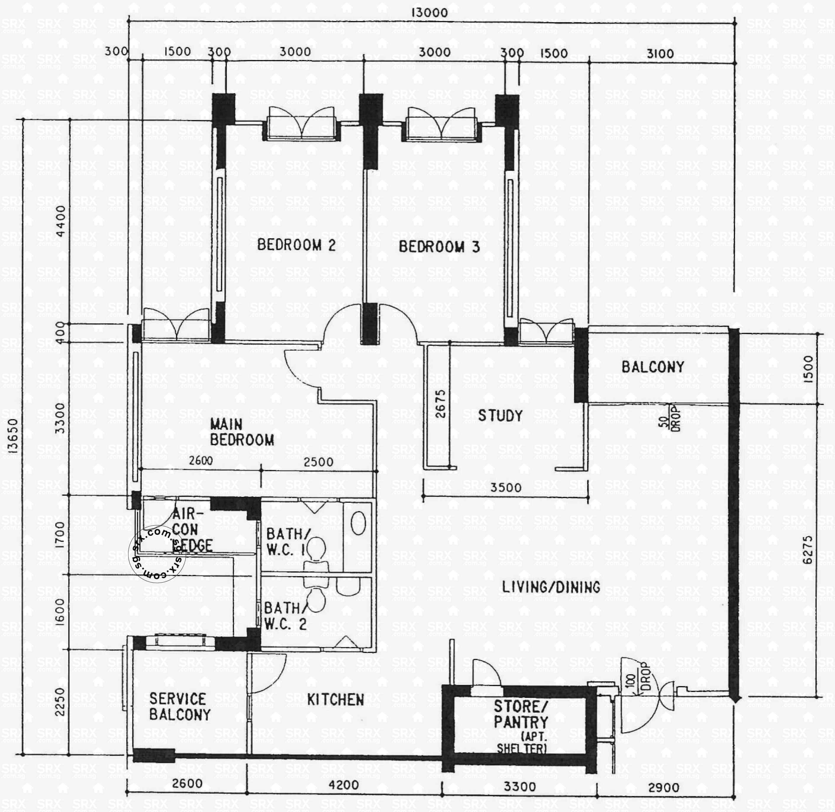 Anchorvale link hdb details srx property for Room planning website