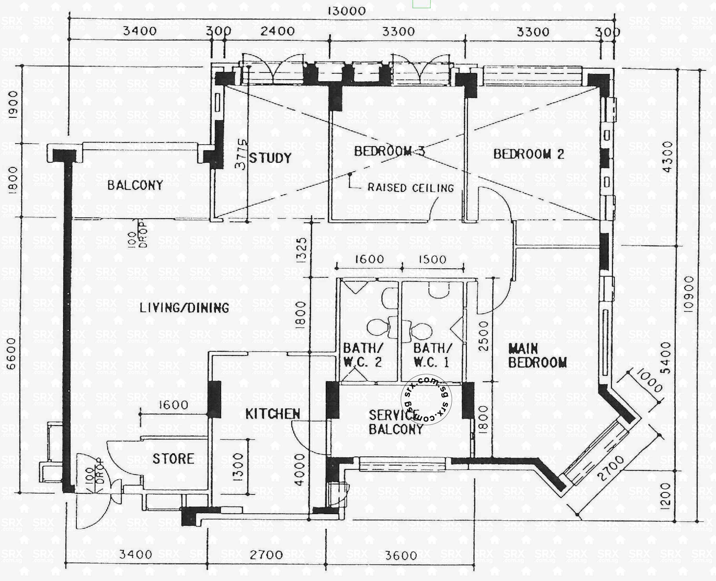 floor plans for woodlands avenue  hdb details  srx property - blk   (typical)