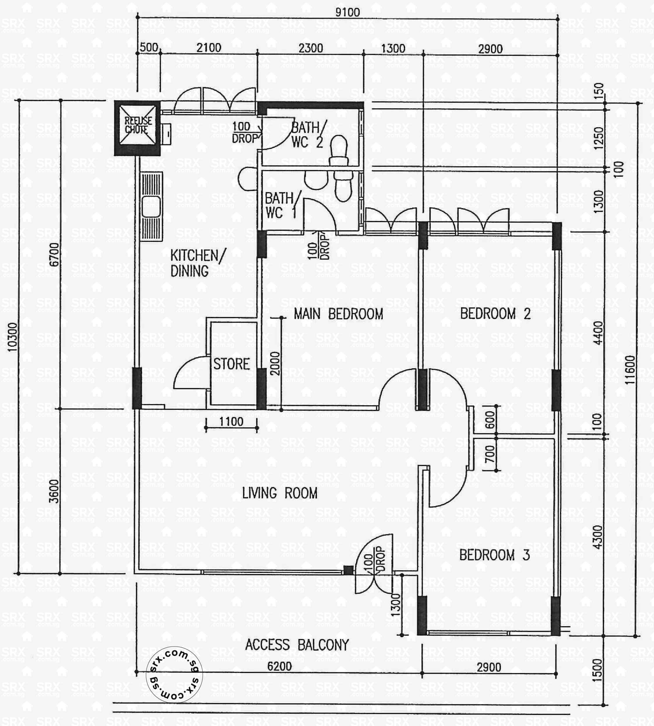 Fernvale Gardens Bto Floor Plan Garden Ftempo