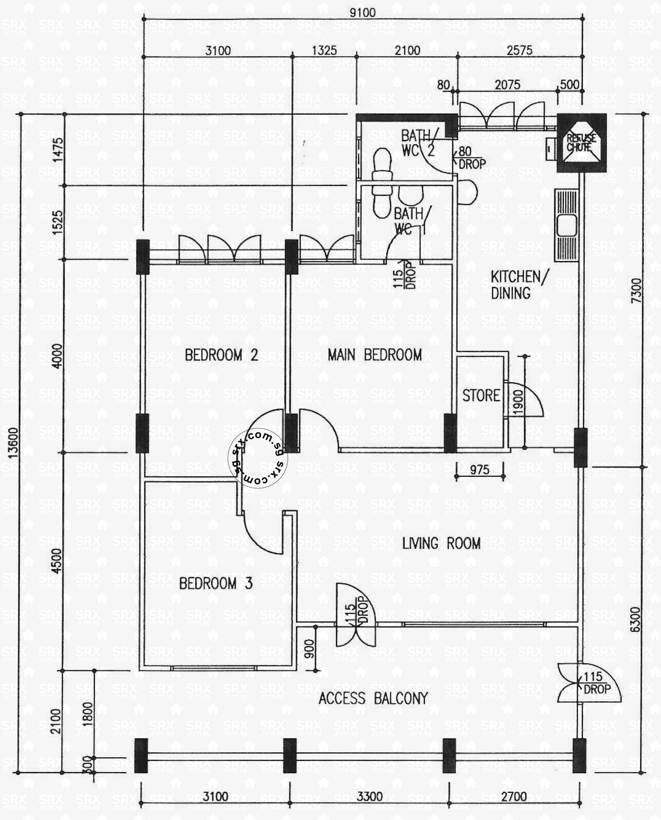 Guggenheim Bilbao also Hougang Street 91 Hshou0019 besides New Modern And Countrycottage House Plans moreover Small Three Bedroom House Plans additionally Designing Your Ada Restroom. on accessible floor plans