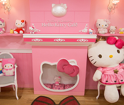Hello Kitty Cafe, Seoul