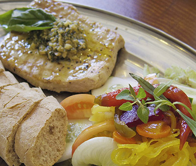 Western fare at Museum Cafe