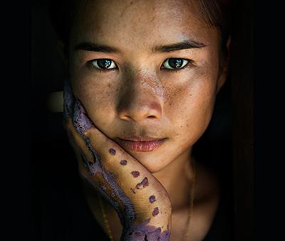 The henna tattoos of a Sama-Bajau bride in Tawi-Tawi