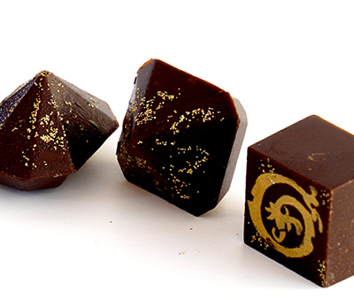 Pralines from Ginto Fine Chocolates