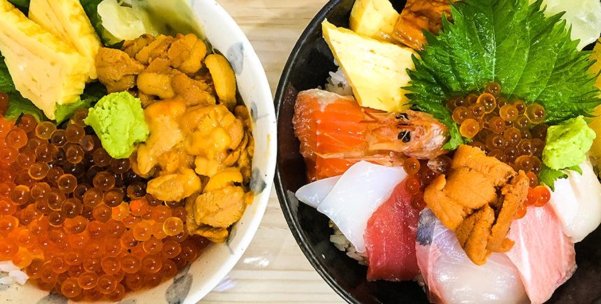 Dons at Tsukiji (Photo: Delle Chan)
