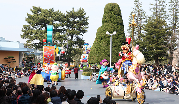 <i>Happiness is Here</i>, Tokyo Disneyland's daytime parade
