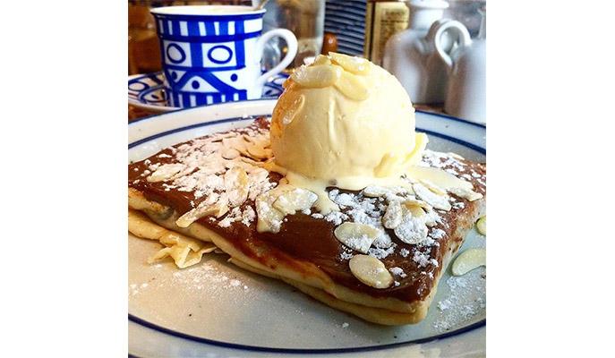 El Magnifique! Crepe from Cafe Breton (Photo: @aixmontes)