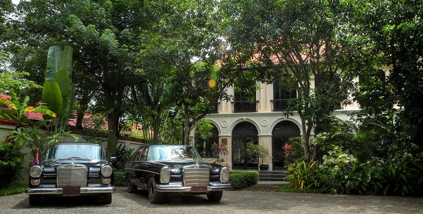 Exterior, Heritage Suites Hotel