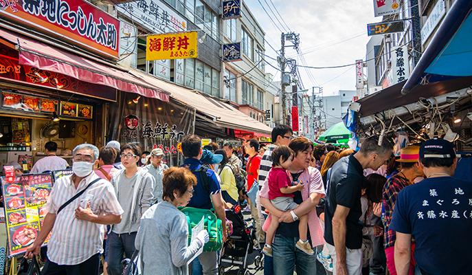 Tsukiji Fish Market, Tokyo (Photo: Korkusung / Shutterstock.com)