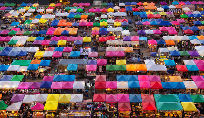 Chatuchak Weekend Market, Bangkok (Photo: Ian Santosa / Shutterstock.com)