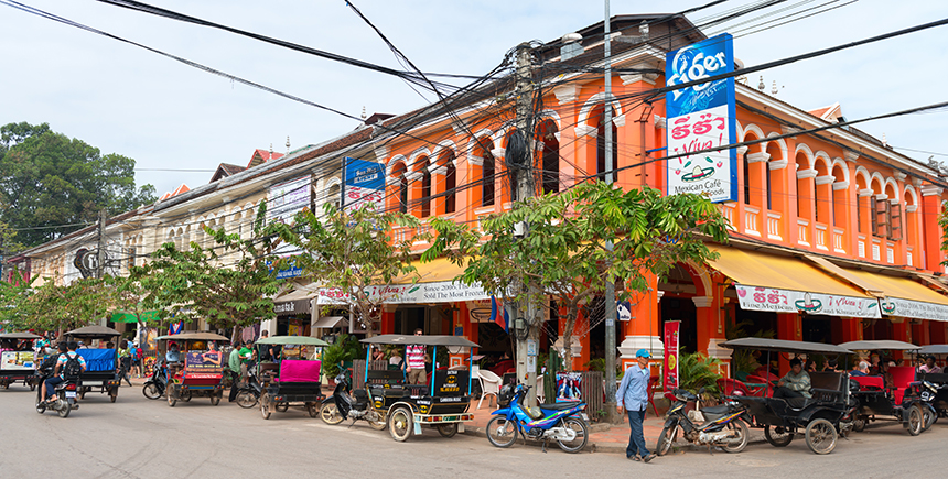 The streets of Siem Reap (Photo: Iryna Rasko / Shutterstock.com)
