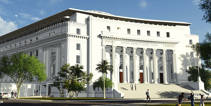 Artist's impression of the National Museum of Natural History, Manila (Photo: Dominic Galicia Architects)