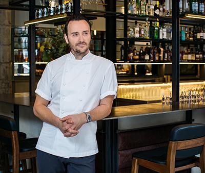 Michelin-starred chef Jason Atherton