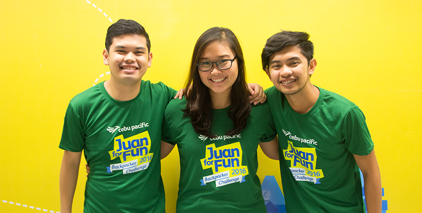 Members of #JFFJUANTeamPH