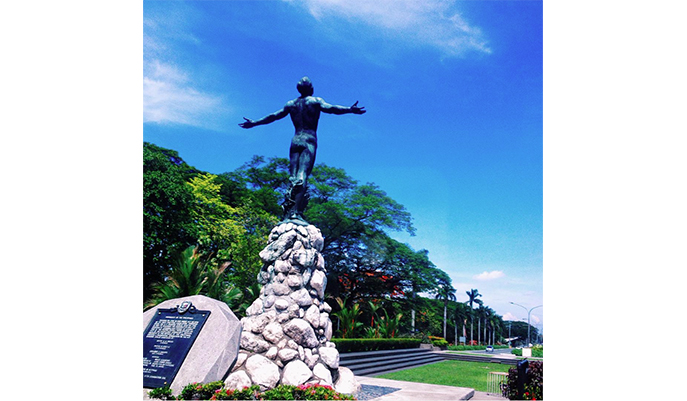 The Oblation at UP DIliman (Photo: @ayacheei)