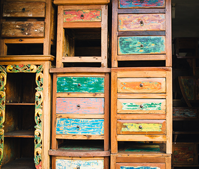Chests of drawers from Igun Ku
