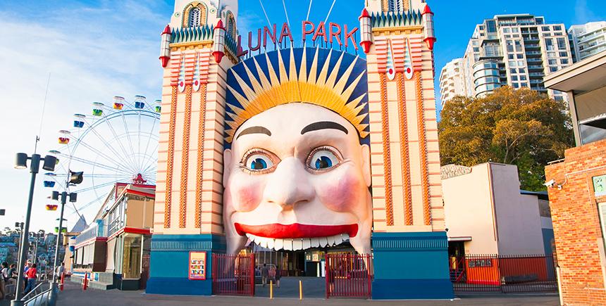 Luna Park Sydney (Photo: Aleksandar Todorovic / Shutterstock.com)