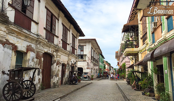 The streets of Vigan (Photo: Akarat Phasura / Shutterstock.com)