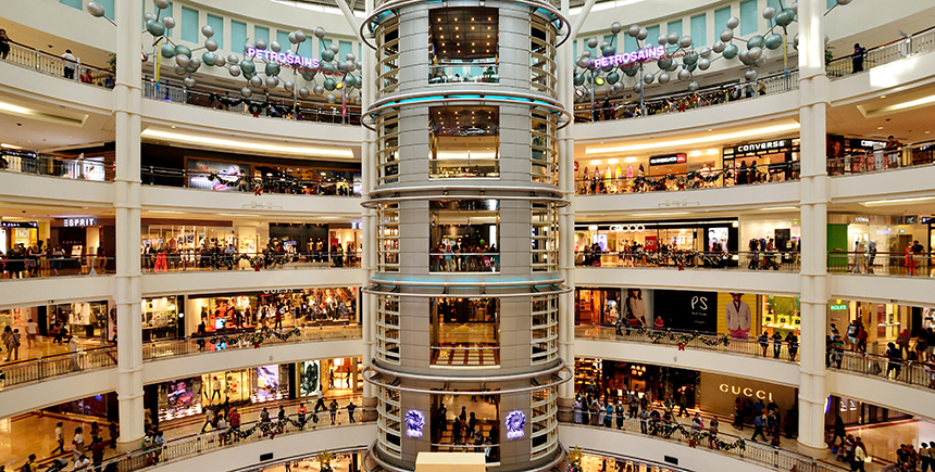 The interior of KLCC (Photo: gracethang2 / Shutterstock.com)
