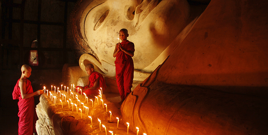 The greatest legacy of the Pagan empire in Myanmar is the widespread adoption of Theravada Buddhism