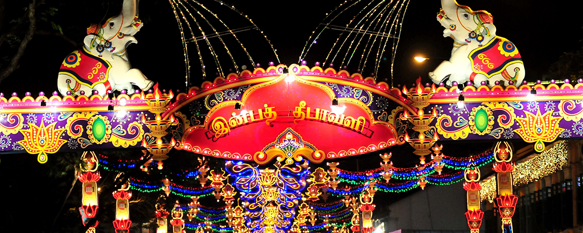 Deepavali light-up