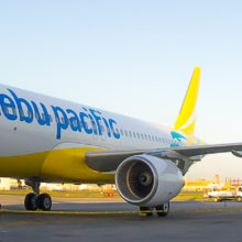 CEB's new livery (Photo: Ajig Ibasco)