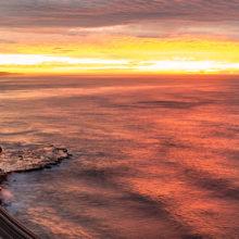 Sea Cliff Bridge at sunrise